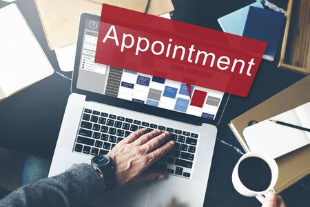 assigning: Appointment Activity Schedule Calendar Meeting Concept