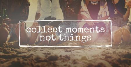 recoger: Recoger momentos no cosas Aventura Placer Concept