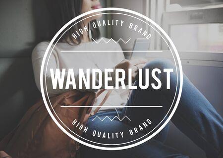 wanderlust: Wanderlust Adventure Camping Journey Vacation Concept