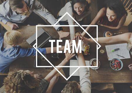 company: Team Alliance Association Company Cooperation Concept