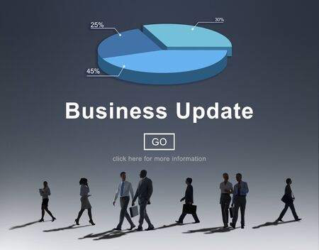 rush hour: Business Update Graph Chart Graphics Concept