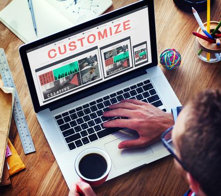 Personalize criar único Concept personalizado