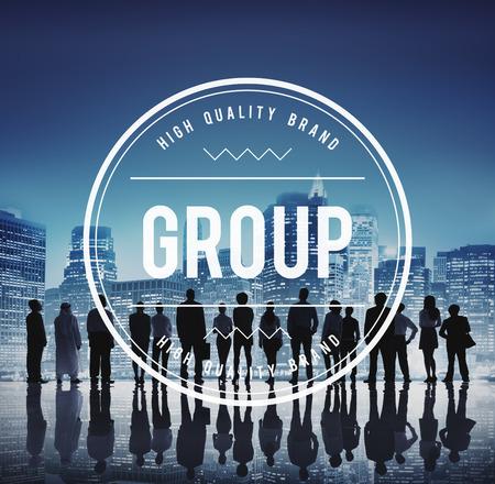 company: Group Gang Unity Community Band Company Concept