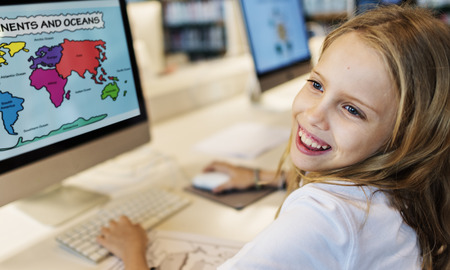 geography: Academic School Childern E-learning Geography Concept