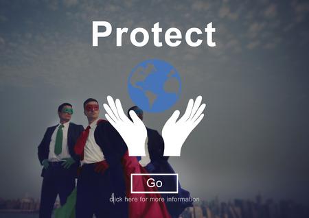 environmentally friendly: Protect Environmentally Friendly Preservation Concept