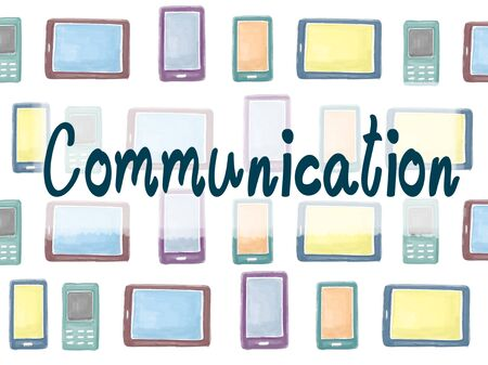communication: Communication Communicate Connection Interaction Concept