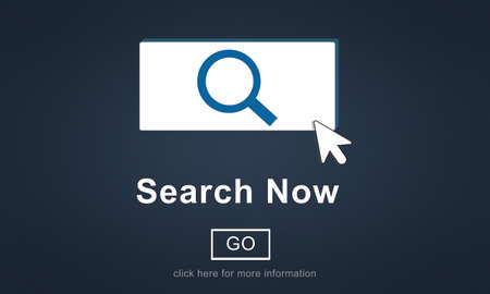 discover: Search Now Exploration Discover Searching Finding Concept