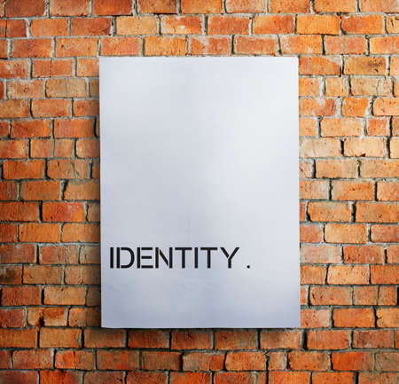 patent: Identity Character Copyright Patent Trademark ID Concept Stock Photo