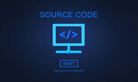 source code: Source Code System PHP Open Source Concept Stock Photo