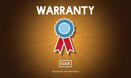 promise: Warranty Guarantee Quality Promise Service Concept Stock Photo