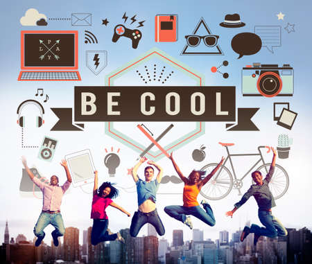 chill: Be Cool Fashion Trends Stylish Trendy Chic Creative Concept