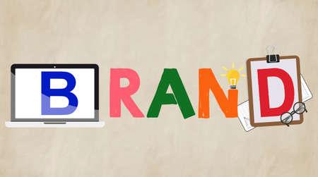 promote: Branding Marketing Campaign Promote Concept