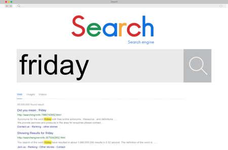 cronograma: Horarios Viernes Horario Agenda Concepto Trabajo de lunes a viernes Foto de archivo