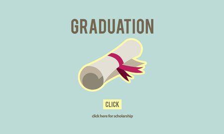 academic achievement: Diploma Degree Graduation Course Education Concept