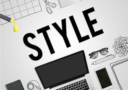 trends: Style Fashionable Trends Hipster Trendy Concept