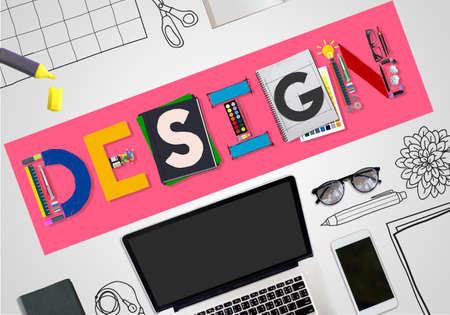 laptop outside: Design Creative Inspiration Art Style Concept