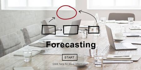 foresee: Forecasting Forecast Estimation Business Future Concept