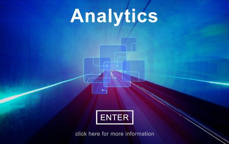 information analysis: Analytics Data Analysis Information Internet Concept Stock Photo