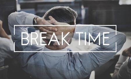 recess: Break Time Relax Relief Recess Concept