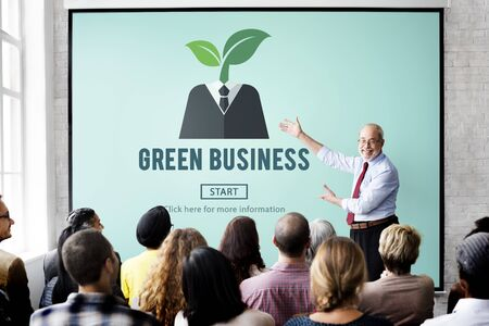 growing plant: Green Business Ecology Environment Concept