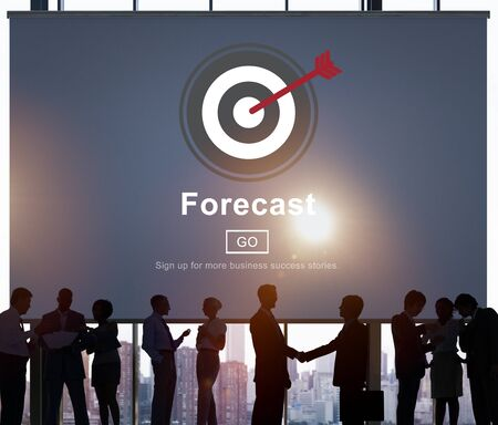 foresee: Forecast Estimate Future Planning Predict Strategy Concept