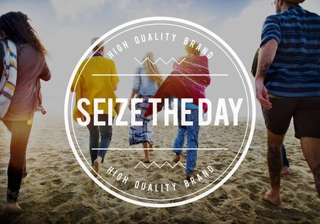 seize: Seize the Day Collect Moments Memory Enjoyment Concept