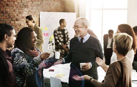 Team-Sitzung Arbeits Reden Konzept