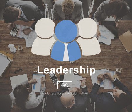 authoritarian: Leadership Coaching Authority Director Lead Concept Stock Photo