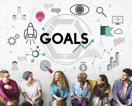 believe: Goals Aim Aspiration Believe Dreams Expectations Concept