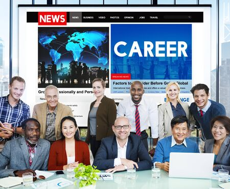 expertise concept: Career Job Occpation Expertise Employment Concept