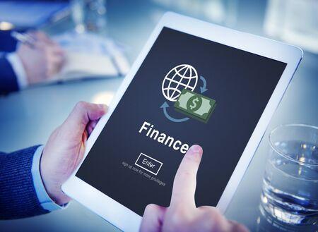 cash money: Finance Financial Money Cash Economics Concept