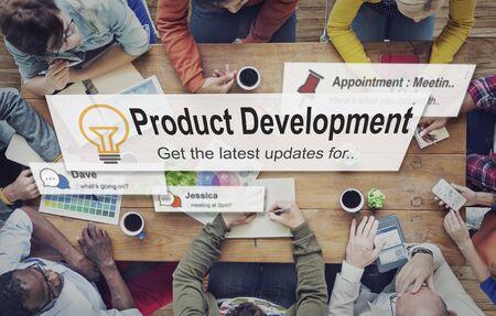 Produktentwicklung Produktivität Effizienz Versorgungskonzept Standard-Bild