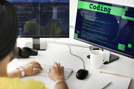 coding: Coding Analysis Computer Data Internet Code Concept