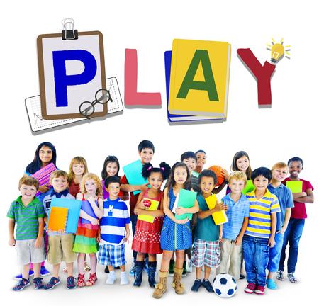 ricreazione: Giocare Tempo libero Ricreazione spettacolo Concetto