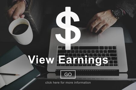 ganancias: Ver los ingresos de Contabilidad Financiera del concepto del dinero