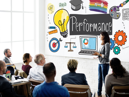 skill: Performance Ability Skill Expertise Implementation Expert Concept Stock Photo