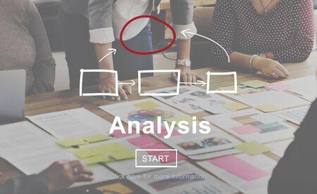 information analysis: Analysis Analyze Examination Data Information Concept