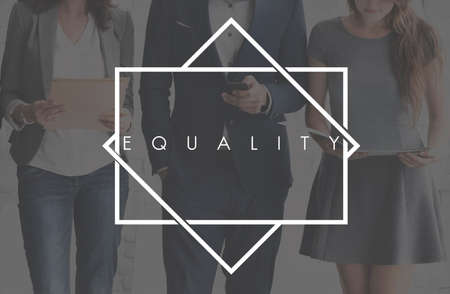 equality: Equality Fairness Rights Impartial Concept Stock Photo