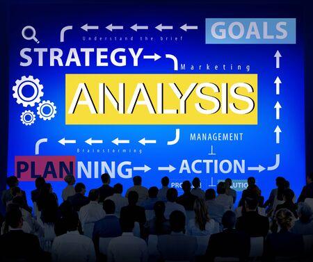 reseach: Analysis Information Data Planning Strategy Analytics Concept Stock Photo