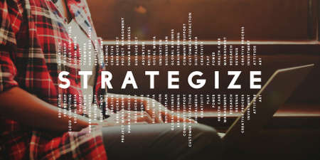 strategize: Strategize Strategist Strategic Tactics Vision Concept