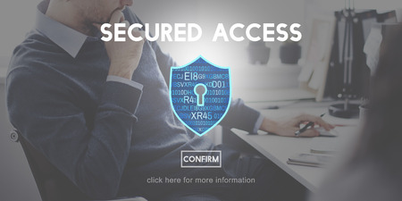 Secured Access Data Protection Security Concept