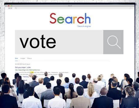 encuestando: Concepto Campaña votación votante voto encuesta de sondeo Decisión
