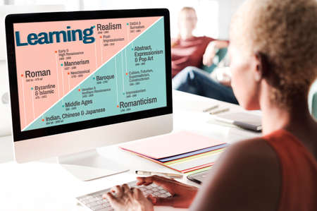 work popular: Learning Art History Timeline Facts Concept