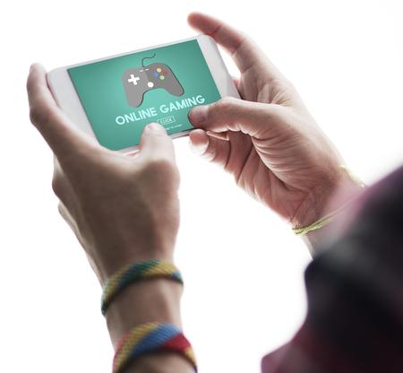 Jeux en ligne Jouer Hobby Stratégie Internet Concept