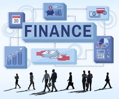 money management: Finance Money Management Graphics Concept
