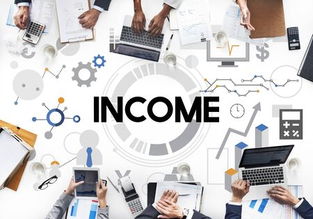 passive earnings: income Assets Banking Capital Finance Money Concept