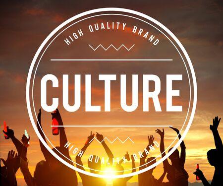 customs: Culture Customs Belief Ethnicity Concept