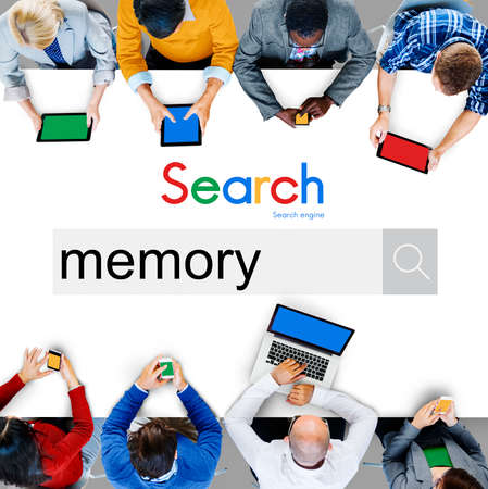 Memory Remember Storage Database Recollection Concept Stock Photo