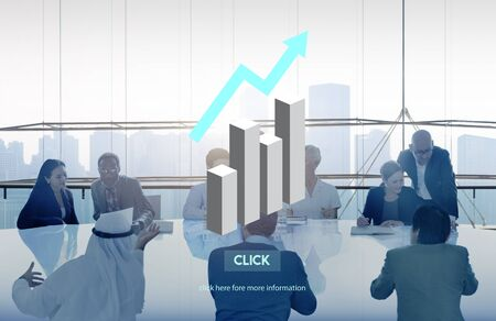 increase business: Growth Development Increase Business Concept