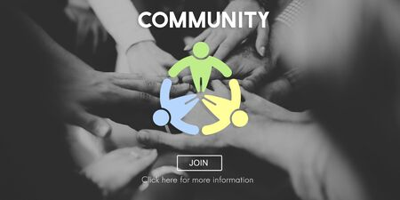 fellowship: Community Connection Fellowship Network Concept